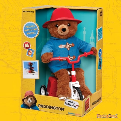 Paddington Movie Collection - 35cm Cycling Paddington Plush