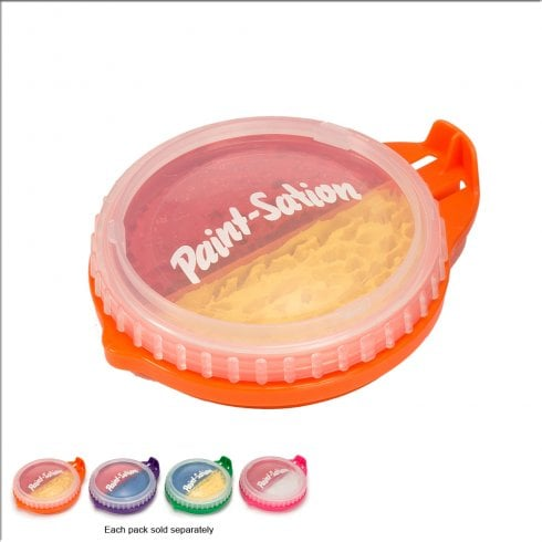Paint-Sation 2-in-1 Paint Pod - Red & Yellow