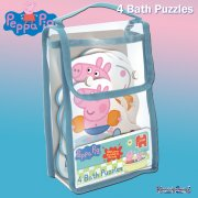 Peppa Pig 4 Shaped Bath Jigsaw Puzzles