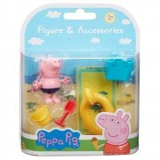 Peppa Pig Beach Figure & Accessories - Peppa's Brother George