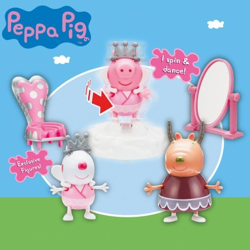 Peppa Pig Beautiful Ballet Set with 3 Figures