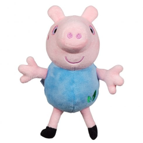 Peppa Pig Collectables - 15cm Eco Plush Supersoft George