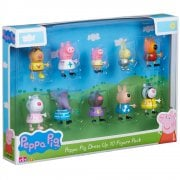 Peppa Pig Dress Up 10-Figure Pack