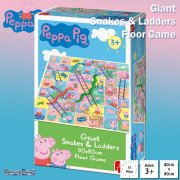 Peppa Pig Giant Snakes & Ladders Floor Board Game