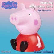 Peppa Pig Go Glow Buddy 2-in-1 Night Light & Torch