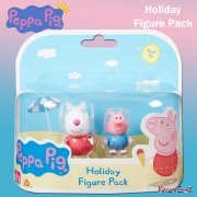 Peppa Pig Holiday Time 2-Figure Pack - Suzy Sheep & George