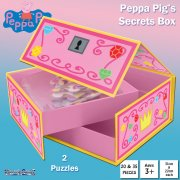 Peppa Pig Jigsaw Puzzles Secret Gift Box