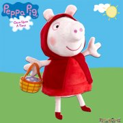 Peppa Pig Once Upon a Time 10in Plush - Red Riding Hood Peppa