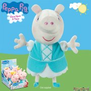 Peppa Pig Once Upon a Time 7in Supersoft Plush - Riches Peppa