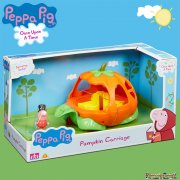 Peppa Pig Once Upon a Time - Pumpkin Carriage with Footman George