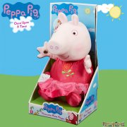 Peppa Pig Once Upon a Time Talking Plush - Princess Rose Peppa