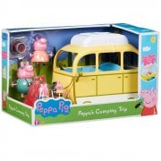 Peppa Pig - Peppa's Camping Set with 4 Figures
