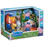 Peppa Pig - Peppa's Day at the Zoo Playset