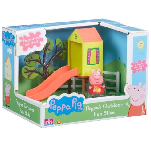 Peppa Pig - Peppa's Outdoor Fun Slide