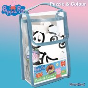Peppa Pig Puzzle & Colour 18 Piece Jigsaw Puzzle