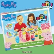Peppa Pig Softee Dough Mould n' Play 3D Figure Maker