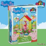 Peppa Pig Softee Dough Peppa's Tea Party Playset