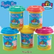 Peppa Pig Softee Dough Value 5-Pack