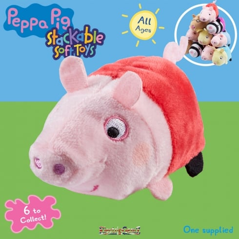 Peppa Pig Stackable Soft Toys - Peppa Pig