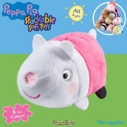 Peppa Pig Stackable Soft Toys - Suzy Sheep