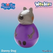 Peppa Pig Weebles Figure - Danny Dog