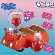 Peppa Pig Weebles - Push-Along Wobbily Car