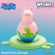 Peppa Pig Weebles Series 2 - Beach Fun George Figure