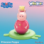 Peppa Pig Weebles Series 2 - Princess Peppa Figure
