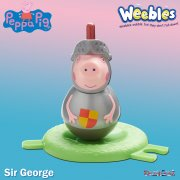 Peppa Pig Weebles Series 2 - Sir George Figure