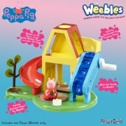 Peppa Pig Weebles - Wind & Wobble Playhouse with peppa Figure