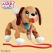 Peppy Pups Brown Dog