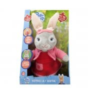 Peter Rabbit - 40cm Talking & Hopping Lily Bobtail