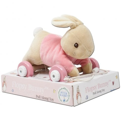 Peter Rabbit Nursery Collection - Flopsy Bunny Pull Along Toy