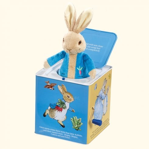 Peter Rabbit Nursery Collection - Musical Peter Rabbit Jack in the Box