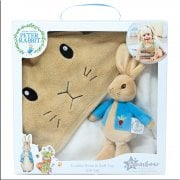 Peter Rabbit Nursery Collection - Soft Toy & Cuddle Robe Gift Set