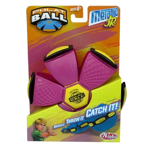 Phlat Ball Jr Metallic - Pink