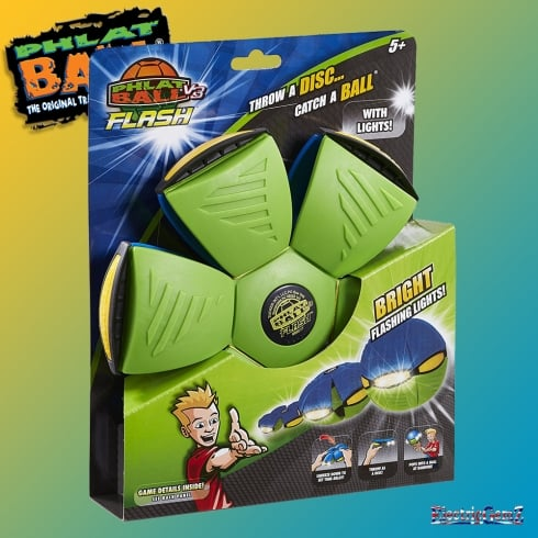 Phlat Ball V3 Flash - Blue & Green