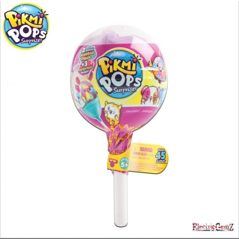 Pikmi Pops Surprise Pack - 2 Sweet Scented Plush + 3 Surprises