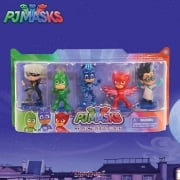 PJ Masks Collectables Figure Set 5-Pack