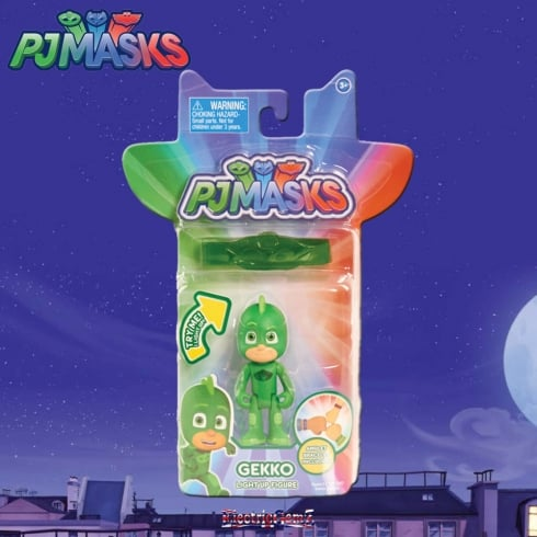 PJ Masks Light-Up Figure - Gekko