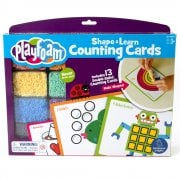 Playfoam Shape & Learn Counting Cards