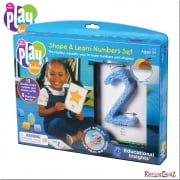Playfoam Shape & Learn Numbers Set