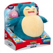 Pokemon 10in Snooze Action Snorlax