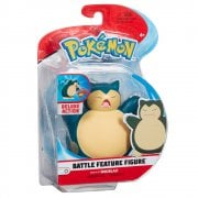 Pokemon 4.5 Inch Battle Feature Figure - Snorlax