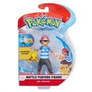 Pokemon 4.5in Battle Feature Figure - Ash & Pikachu