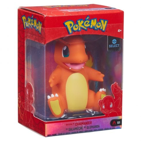 Pokemon 4in Kanto Vinyl Figure - Charmander