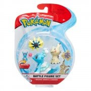 Pokemon Battle figure 3-Pack - Mimikyu, Cosmoem & Brionne