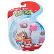 Pokemon Battle figure 3-Pack - Torracat, Ditto & Pyukumuku