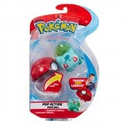 Pokemon Pop Action Poke Ball - Bulbasaur