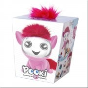 Pooki Interactive Pet with Sound Movement & Animated Screen - Pink